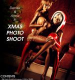 Art by Miki3DX – Denise & Anna in Xmas Photo Shoot