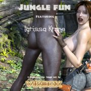 Art by Vik3DX – Jungle Fun