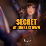 Art by Firolian – DVa – Secret of Junkertown