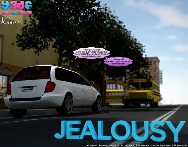 Art by Y3DF – Jealousy