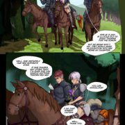 Art by Gabe – Tales of Beatrix – Knight and Mare