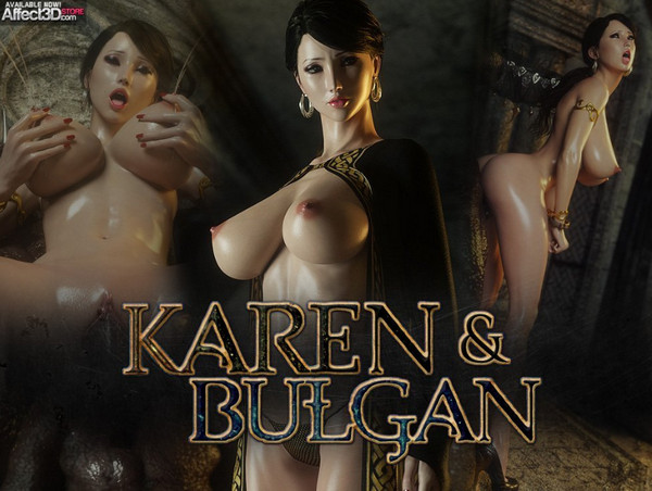 Art by Jared999D – Karen and Bulgan the Impaler Vol 1-2
