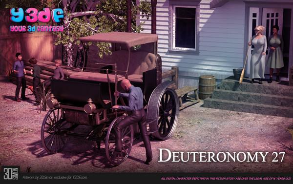 Art by Y3DF – Deuteronomy 3