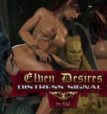 Art by X3Z – Elven Desires – Distress Signal