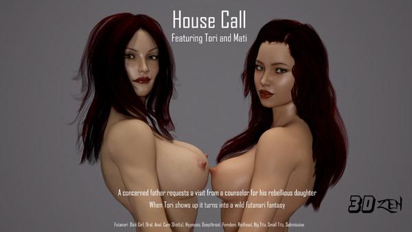 Art by 3DZen – House Call