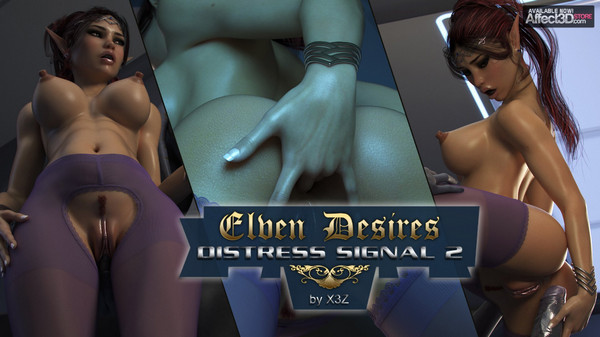 Art by X3Z – Elven Desires – Distress Signal 2