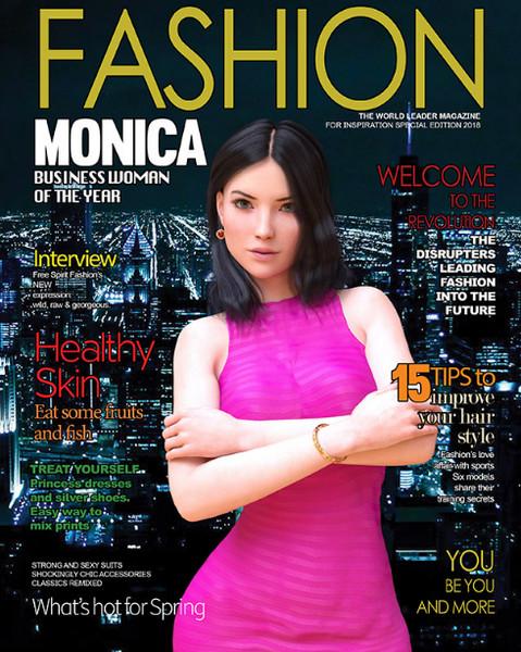 DecentMonkey - Fashion Business: Monica's adventures - Episode 1