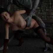 Art by Sting3D - Prisoner of Fuck Castle