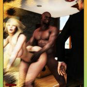 Art by Moiarte – Cuckold in Africa 3