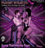 Art by DecaMeron X – The Chronicles of Planet Stiletto 1-4