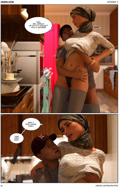Losekorntrol - Young Love Vol.1-2 (Hijab 3DX)