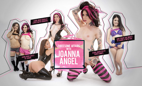 Lifeselector - Threesome Affairs with Joanna Angel