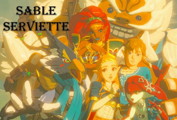 Sable Serviette Works / Zelda, Link, Mipha, Urbosa