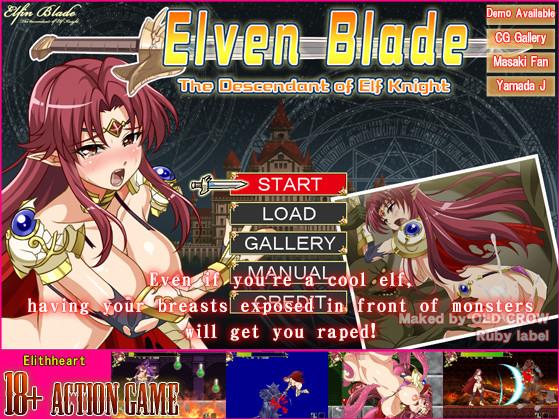 Elithheart - Elven Blade (Eng)