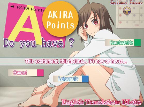 Golden Fever - Do you have AKIRA Points? (Eng)