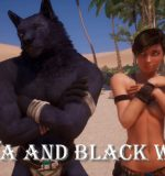 Adeptussteve – Wild Life: Maya and Black Wolf