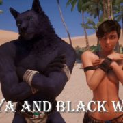 Adeptussteve - Wild Life: Maya and Black Wolf