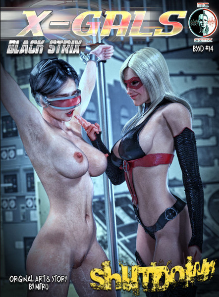 Art by Mitru - X-GALS - Black Strix: Shutdown 1-12