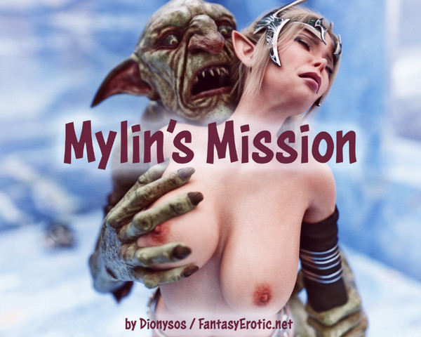 Art by Dionysos – FantasyErotic – Mylin's Mission