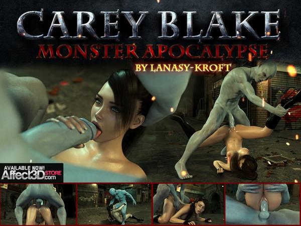 Art by Lanasy-Kroft - Carey Blake - Monster Apocalypse